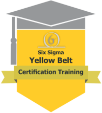yellow belt six sigma There are many levels of certification for six sigma one level that plays an important role in process improvement projects is the yellow belt.